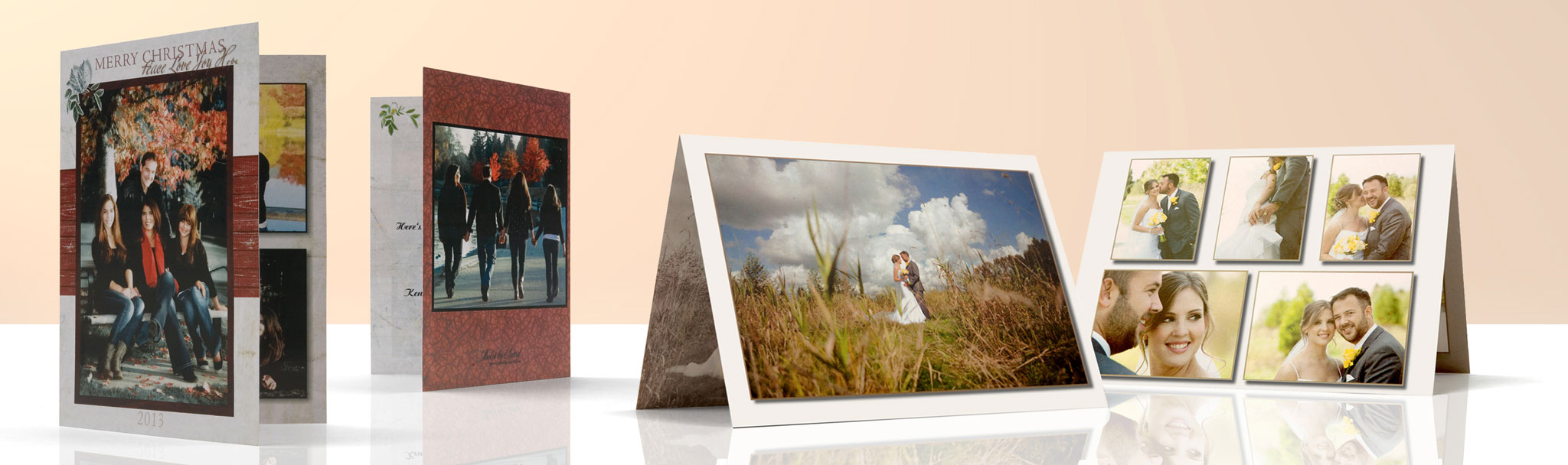 Custom Made Photo Greeting Cards