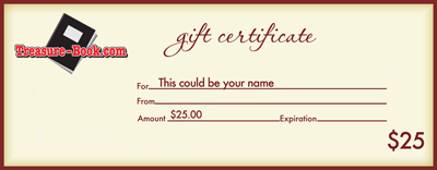 Buy Photo Books Gift Certificate from Treasure-Book.com